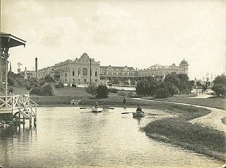 Hotel Bristol - The Bristol Hotel, Mar del Plata, 1907.