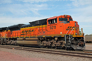 EMD SD70 series - BNSF SD70ACe 9211 Lincoln, NE 10-19-2014