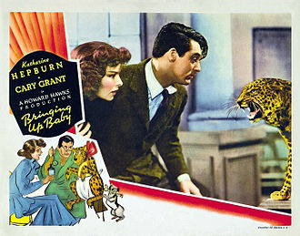 Screwball comedy film - Bringing Up Baby (1938) is a screwball comedy from the genre's classic period.