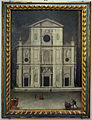 Baccio del bianco (attr.), progetto dell'Accademia per la nuova facciata del duomo, 1635, 01.JPG