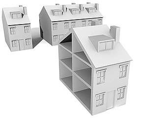Real property legal term; property consisting of land and the buildings on it