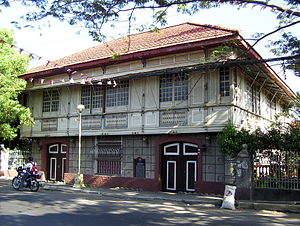 Bacoor - Bahay Tisa (Cuenca Ancestral House) served as the headquarters of the Philippine revolutionary government in 1898
