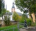 """Bad Kreuznach – """"Schambes-Klappergässer"""" in der Klappergasse vor der Pauluskirche - panoramio.jpg"""