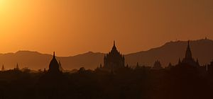 Bagan - Bagan's prosperous economy built over 10,000 temples between the 11th and 13th centuries.