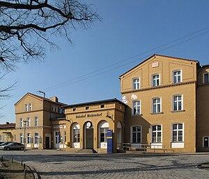 Michendorf - Image: Bahnhof Michendorf