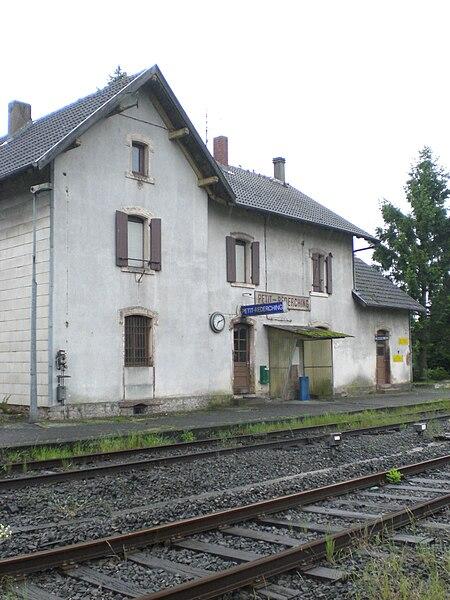 Train station Petit-Réderching, Lorraine