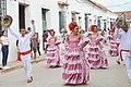 Baile de cumbia en Fiestas de independencia de Colombia, Mompox, Bolivar.jpg