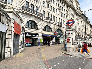 Baker Street tube station London Underground station