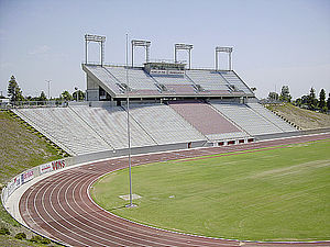 Memorial Stadium (Bakersfield) - Bakersfield Memorial Stadium