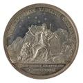 Baksida av medalj med bild av Moder Svea och Karlavagnen, 1829 - Skoklosters slott - 99619.tif