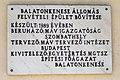 Balatonkenese vasútállomás emléktáblája 02.jpg