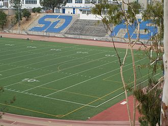 Balboa Stadium - View from northeast in 2008
