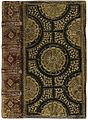 Band van donker bruinkarmijn marokijn, ten dele zwart gebeitst-KONB12-1791D15.jpeg