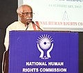 Bandaru Dattatreya addressing at the inauguration of the National Seminar on Bonded Labour, organised by the National Human Rights Commission, in New Delhi.jpg