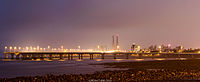 Bandra Worli Sea Link from worli Sea Face.jpg