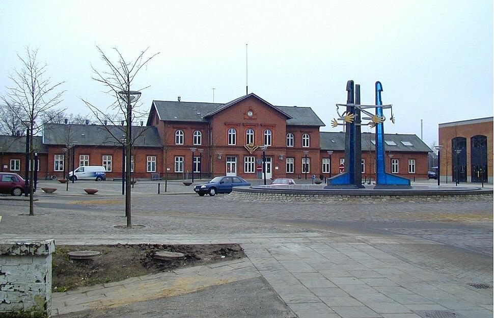 Banegården Viborg