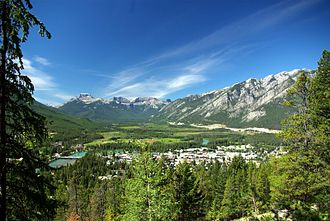 Banff, Alberta - View of Banff