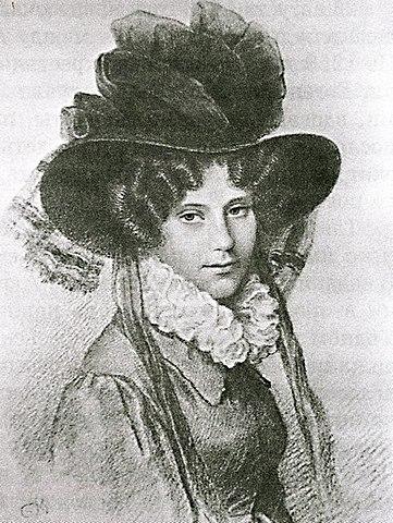 А.Л.Баратынская, 1826г.