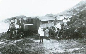 Barbados Railway - Barbados Railway near Barcleys Park