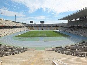 Estadi Olímpic Lluís Companys - The stadium in 2014