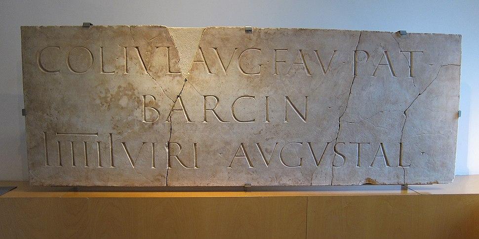 Barcino marble barcelona