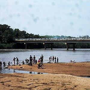 Baro River - Baro River at Gambela