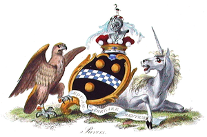 Baron Rivers - The coat of arms of the Barons Rivers (third creation).