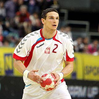 Bartłomiej Jaszka Polish handball player