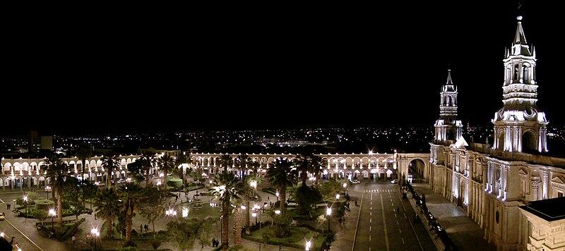 Arequipa-historia 800px-Bas%C3%ADlica_Catedral_de_Arequipa
