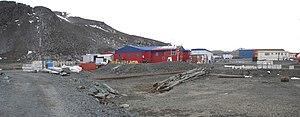 Base Presidente Eduardo Frei Montalva - Image: Base Chilena Presidente Eduardo Frei