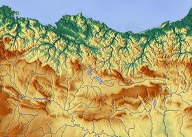 Voir sur la carte administrative des Montagnes basques