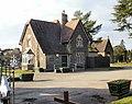 Bassaleg Road entrance lodge, St Woolos cemetery, Newport - geograph.org.uk - 1709949.jpg
