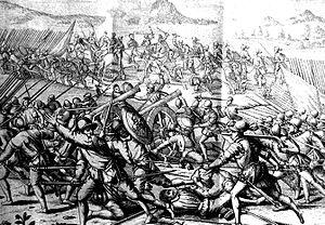 Battle of Las Salinas - Battle of Las Salinas