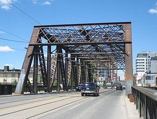 Sir Isaac Brock Bridge bridge in Toronto, Canada
