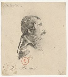Portrait de Marc Antoine Baudot par André Dutertre, (1753-1842) . Illustrateur