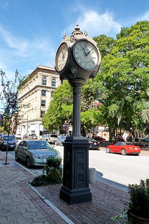 National Register of Historic Places listings in Craven County, North Carolina - Image: Baxter Clock