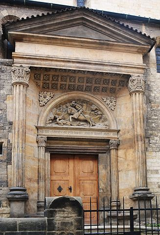 Portal of St. George's Church in Prague Castle, around 1510