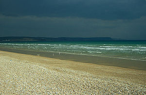 Greenhill, Dorset - The beach at Greenhill, Weymouth, Dorset.
