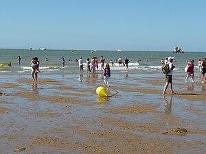Morecambe - Morecambe Sands in summer