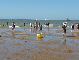 Morecambe - Morecambe Sands in summer