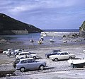 Beach parking at Port Isaac - geograph.org.uk - 674293.jpg