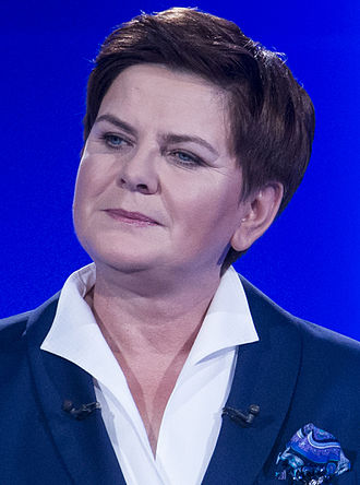Polish parliamentary election, 2015 - Image: Beata Szydło 2015 (cropped)