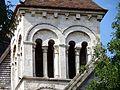 Beauvais (60), église Notre-Dame de Marissel, clocher, étage de beffroi, vue depuis le sud.jpg