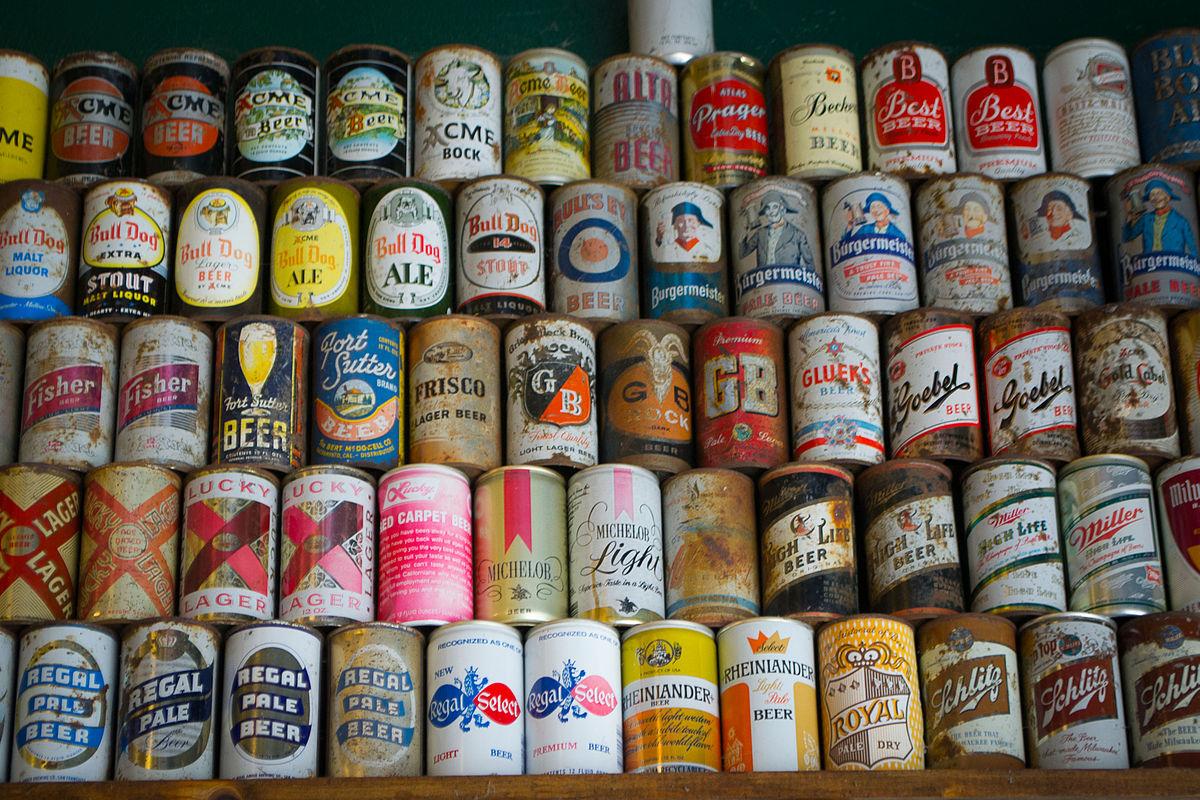 பீர் பற்றிய  உண்மைகள் 1200px-Beer_Cans-1
