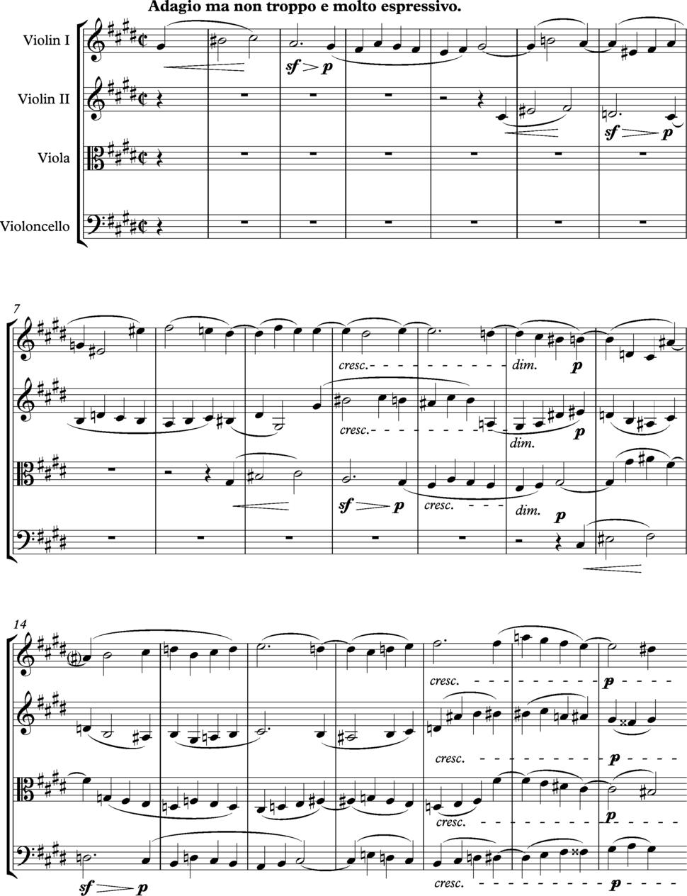 Beethoven Op 131