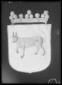 Begravningsbanér fört vid Karl X Gustavs begravningståg 1660, Dalsland - Livrustkammaren - 70273.tif