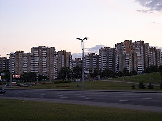 Victors Avenue - Image: Belarus Minsk Masherov Avenue 1