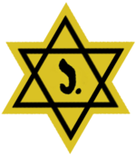 Belgian yellow badge
