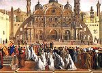 Bellini, Gentile - St. Mark Preaching in Alexandria - c. 1507.jpg
