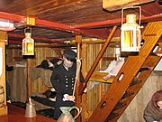 Jeanie Johnston below decks